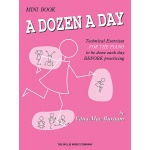 Burnam - Dozen a Day Mini Book